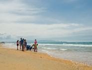 На пляже Витязева