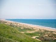 Вид на дикие пляжи в сторону Благовещенской