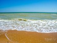 Азовское море чистое и теплое