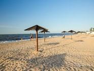 Центральный пляж Голубицкой