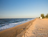 Пляжи Голубицкой пользуются большой популярностью