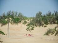 Песчаные дюны Джемете