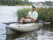 В таманских лиманах удобнее рыбачить с лодки