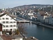 Вид на Цюрих с Политерассе