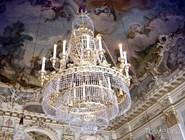 Дворец  Нимфенбург. Интерьер