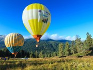 Воздушные шары в Архызе
