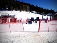 Трасса на горнолыжном курорте Архыз