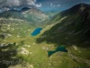 Высокогорные озера в Архызе