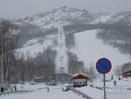 Курорт Абзаково зимой