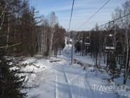 Кресельная канатная дорога на курорте Абзаково