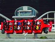 Тематические аттракционы в парке Ferrari World