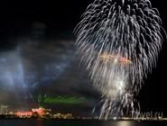 Самый большой фейерверк в мире в День независимости ОАЭ
