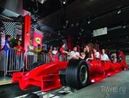 Тематические аттракционы в Ferrari World