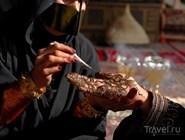 Традиционная роспись хной