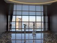 """Смотровая площадка """"300"""" на  Etihad Towers"""