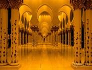 Интерьер мечети Шейха Зайда