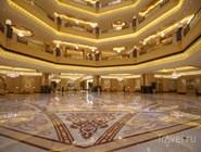 Интерьер центрального вестибюля Emirates Palace