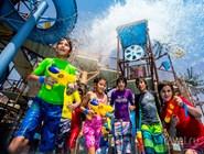 Активные семейные развлечения в аквапарке Yas Waterworld
