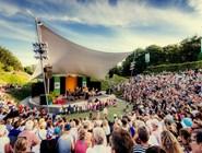 Пильдаммспаркен. Выступление на летней сцене
