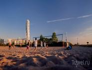 Активный отдых на пляже Ribersborgsstranden