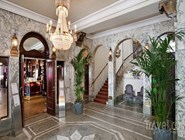 Интерьер вестибюля Scandic Kramer Hotel