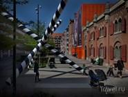 Уличная инсталляция Moderna Museet
