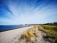 Песчаный пляж Ribersborgsstranden
