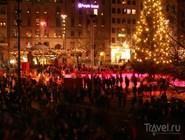 Рождественское представление на площади Stortorget