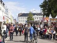 Пешеходная улица в центре Мальмё