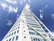 Фасад небоскрёба Turning Torso