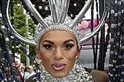 Участник гей-парада. Фото: corriere.it