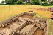 Раскопки замка Робина Гуда. Фото: The Sun