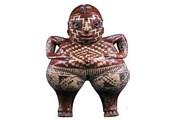 Фигурка из обожженной глины; VII-II в. до н. э; Мексика. Фото: ambafrance.ru/H.Dubois
