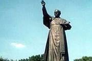 Памятник Иоанну Павлу II. Фото: spart-aeros.com.ua
