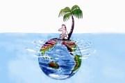 Глобальное потепление. Рисунок: Токоро Юкиоши