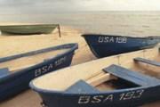 Лодки на Чудском озере. Фото: Narva-ld.ru
