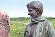 Памятник Валентине Маркевич. // annews.ru