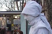 """""""Живая статуя"""" на Ла-Рамбла. // turizm.lib.ru"""