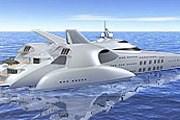 150-метровая яхта оборудована вертолетной площадкой. // cld.co.nz