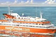 Судно линии easyCruise // cruise-information-center.com