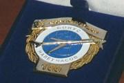 """Наградной знак """"Аэрофлот-Дон Бонус - налет 100 часов"""" // aeroflot-don.ru"""