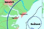 Княжество Силэнд расположено в 7 милях восточнее английского побережья. // Wikipedia
