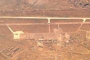 Вид на тбилисский аэропорт с высоты в 10 километров (1999 год). // Airliners.net