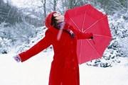 Для жителей Катманду снег в диковинку. // GettyImages