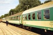 Поезд Express на вокзале Свиноуйсьце // Railfaneurope.net