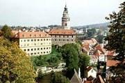 Дорога от Праги до Чески-Крумлова занимает 40 минут. // zamky-hrady.cz