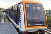 Поезд автоматического метро в аэропорту Парижа.// adp.fr