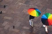 Дождь туристам - не помеха. // blog.afisha.uz
