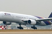 Самолет авиакомпании Thai Airways // Airliners.net