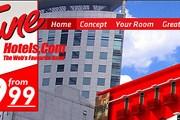 Сайт нового отеля в столице Малайзии // tunehotels.com